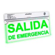 Cartel Señalizador Salida De Emergencia Atomlux 9905l