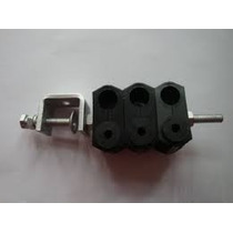 Feeder Clamp Fibra Óptica Para 3 Cabos