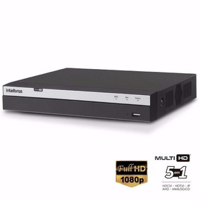 Dvr Stand Alone Intelbras 16 Canais Mhdx 3016 Full Hd 1080p