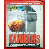 Revista Veintitres Torres Gemelas Atentado 11 Septiembre