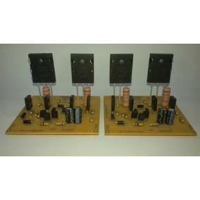 Kit 2 Placas Amplificador 100w 2sc5200-2sa1943