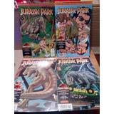 Jurassic Park Comics.4 Tomos.metro Las Rejas. Envío Gratis