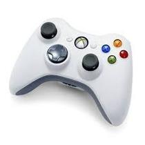 Controle Original Xbox 360 Branco Wireless Controle Sem Fio