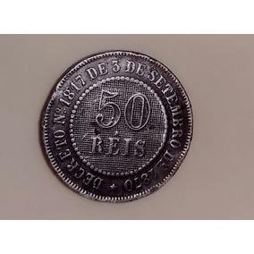 Vendo Moeda De 50 Reis Muito Antiga Do Ano 1886 Colecionado