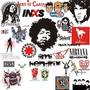 Pack De Logos Bandas De Rock Vectores Para Estampados Corte