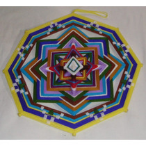 Ojo De Dios Huichol Mandala Tejido