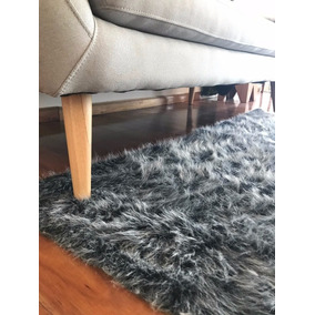 alfombra moderna nordica piel sintetica pelo largo 2x15m - Alfombra Moderna