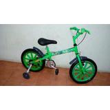 Bicicleta Infantil -ben 10 Semi Nova