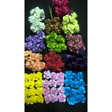 Flores Artificiales Rosas P/ Novias Souvenirs (paq X30 Fls)