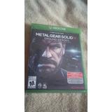 Wow! Metal Gear Solid V Ground Zeroes Nuevo Envio Gratis