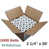 1000 Rollos De 2 1/4 X 50