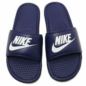 Ojotas Nike Benassi Azul Marino Nuevas Original Hombre Mujer