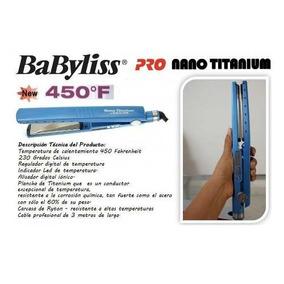 Plancha De Cabello Original Titanium Babyliss
