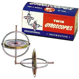 Tedco Originial Giroscopio Twin Pak