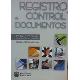 Registro Y Control De Documentos 7mo Grado Edit Biosfera