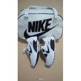 Air Max Colorido Kit Bolsa +tênis