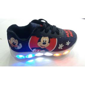 Ténis Infantil Led Mickey