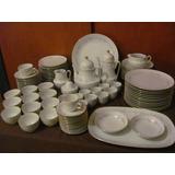Juego De Porcelana Tsuji 269 Completo 6 Personas