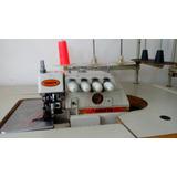 Maquina De Coser Industrial Overlock Yamata 100% Como Nueva