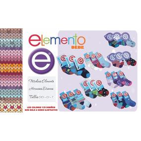 Medias Elemento Bebe Talles 000, 00, 0 Y 1. Bb Twins
