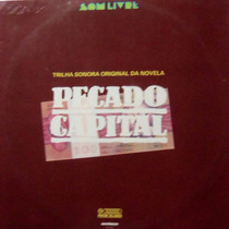 Lp Novela Pecado Capital/nacional/1975/otimo Estado/globo.