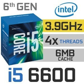 Procesador Intel Core I5 / I5-6600 Socket Lga 1151