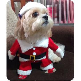 Fantasia Roupa Para Cachorros E Gatos Papai Noel Revenda