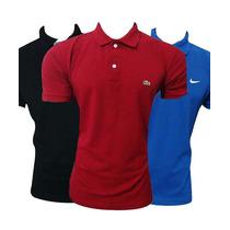 05 Camisas Gola Polo Hollister Lacoste Ralph Lauren Nike