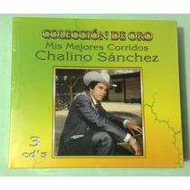 Chalino Sánchez - Colección De Oro Mis Mejores Corridos- Cds