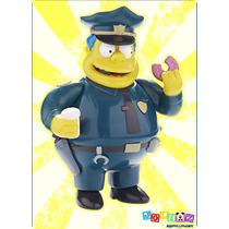Jefe Gorgory Policía Simpsons Parlante Coleccionable 25 Años