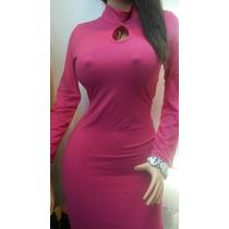 Vestido De Dama Beisbolero Corto Manga Larga Fashion Casual