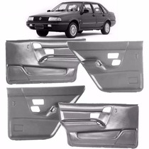 Kit 4 Forros Porta Santana 1991/1998 4 Portas Cinza P/treco