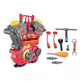 Brinquedo Motor Monta E Desmonta C/ Luz E Som Carros 3