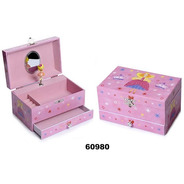 Caja Musical Hada Madrina Princesa - Joyero 60980