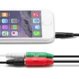 Adaptador Para Pc Celular Lapto Audio Y Micrófono Zona Tech
