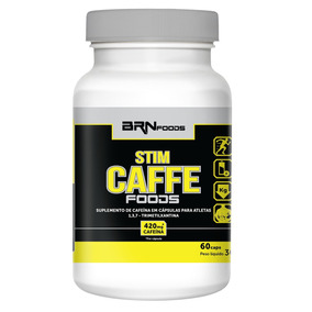 Termogenico (pre Treino) Stim Caffe Food 60 Cáps - Brn Foods