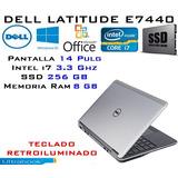 Ultrabook Dell E7440 I7/ Ssd 256gb/ 8gb Ram