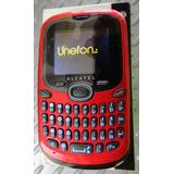 Celular Alcatel (unefon) Nuevo , Admite Chips 3g Y 4g Rojo