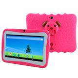 Tablet 7 Chicos Ninos Android Niños Kids Antigolpes Bebe