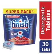 Tabletas Para Lavavajillas Automático Doypack Finish 30 U