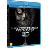 Blu Ray 3d+ 2d O Exterminador Do Futuro - Gênesis - Duplo