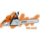 Motosierra Ms 660 Sthil Original