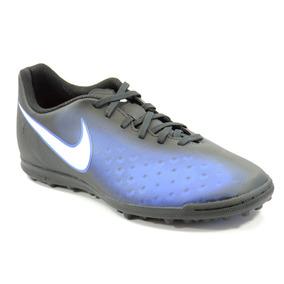 716ce83f06 Chuteira Nike Society Magista Preto Azul Branco - 844408-016