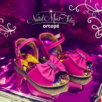 Ortopé Sandália Doçura Para Meninas Pink