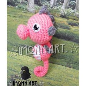 Caballito De Mar, Muñeco Amigurumi, Tejido A Mano, Crochet
