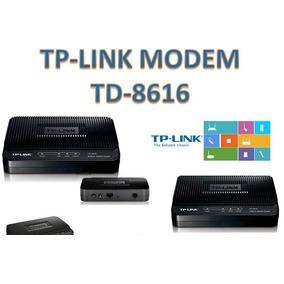 Modem Tp-link Adsl2+modem Td-8616 Banda Ancha Cantv