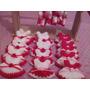 Souvenirs Tejidos Crochet Minivestiditos Cuencos Alfombras