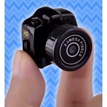 Mini Micro Camera Dv Filmadora 720p 2g Espia Menor Do Mundo