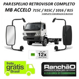 Par Espelho Retrovisor Caminhão Mb Accelo 715 815 915 1016 C