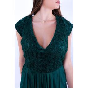 Vestido Lara Design Madrinha Noite Mãe De Noiva Lindo Novo